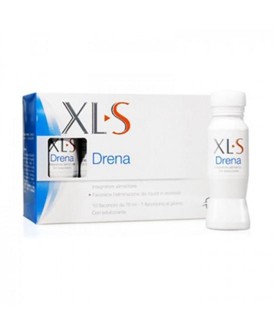XLS Drena Integratore Alimentare 10 Flaconcini Da 10ml - La farmacia digitale