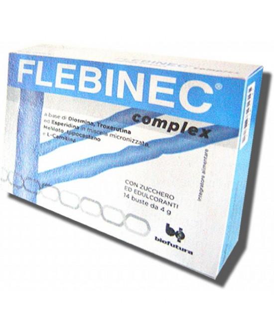 Flebinec Complex Integratore Alimentare 14 Bustine - farmaventura.it