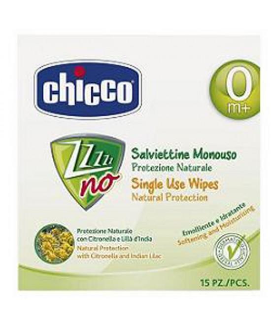 Chicco Salviettine Monouso Protezione Naturale 15 Pezzi - latuafarmaciaonline.it