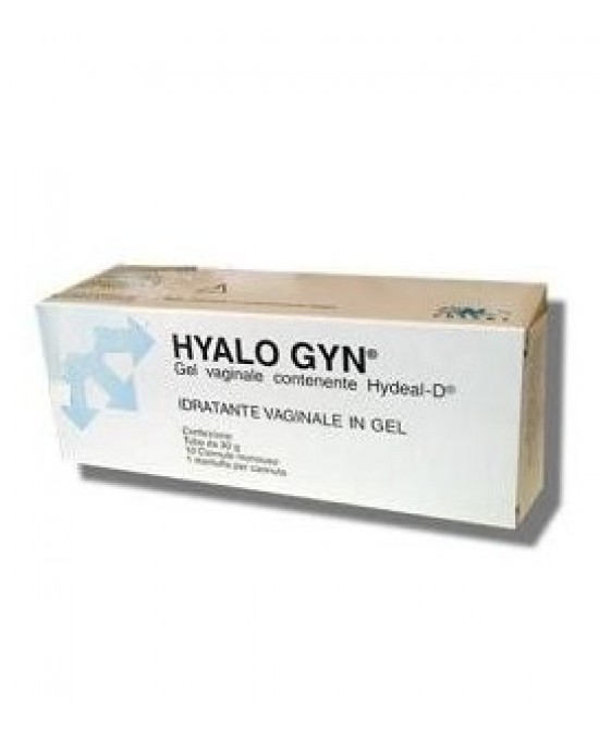 HYALO GYN GEL IDRATANTE VAGINALE 30 G SENZA PARABENI - Farmabellezza.it