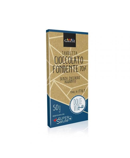 Dolce Vita Tavoletta Di Cioccolato Fondente al 70% 50g