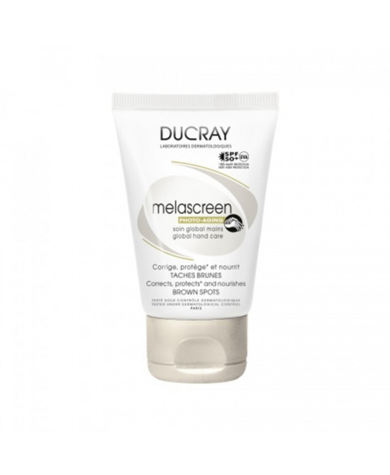 Ducray Melascreen Crema Mani Antimacchie SPF 50+ 50 Ml
