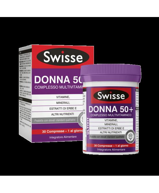 Swisse Donna 50+ Multivitaminico Integratore Alimentare 30 Compresse - Farmastop