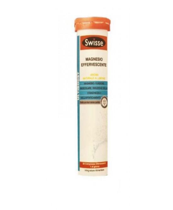 Swisse Magnesio Effervescente 20 Compresse - La tua farmacia online
