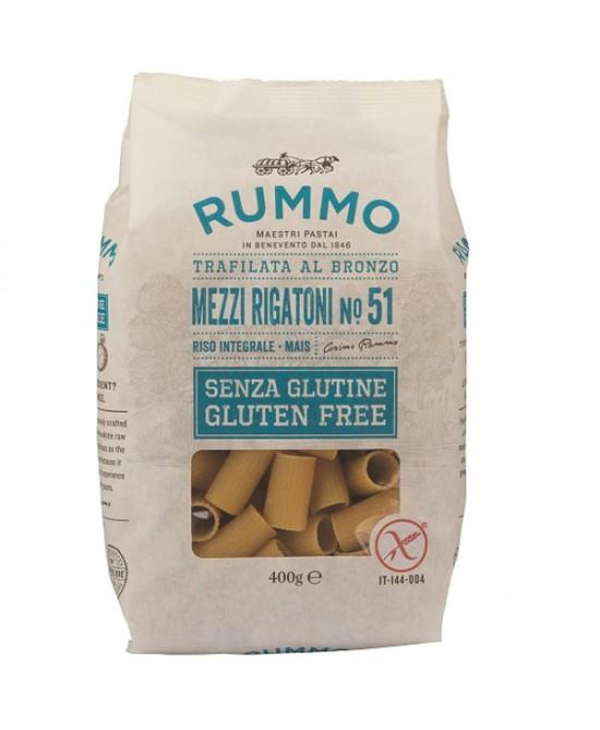 Rummo Mezzi Rigatoni N°51 Senza Glutine 400g - FARMAPRIME
