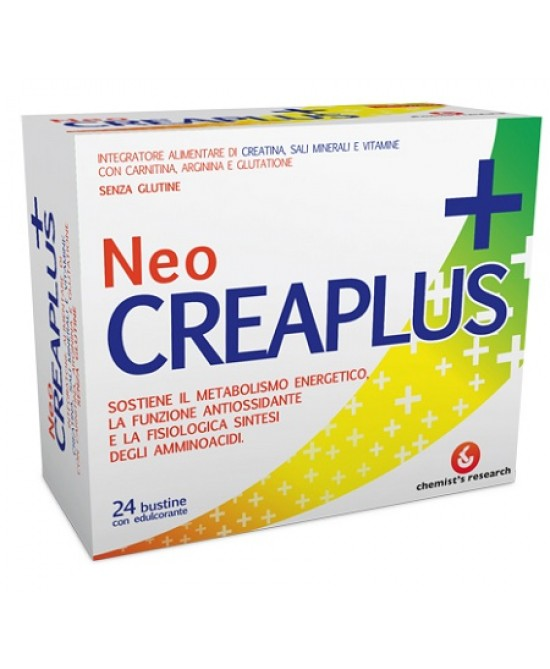 Neocreaplus Integratore Alimentare 24 Bustine - Farmafamily.it