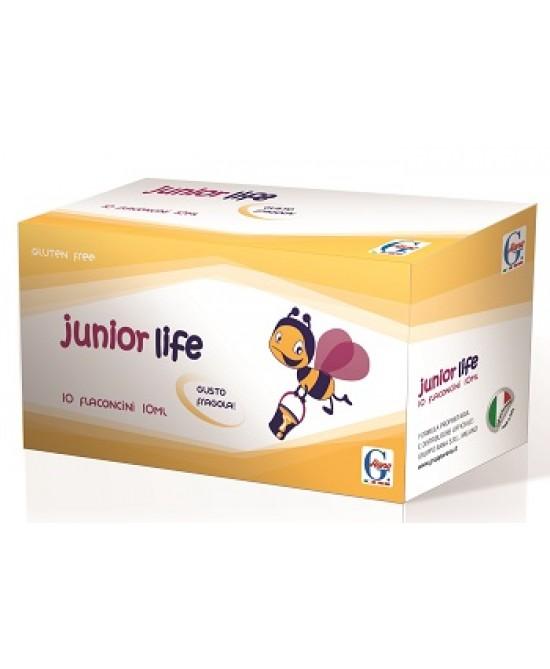Junior Life Integratore Alimentare 10 Flaconi