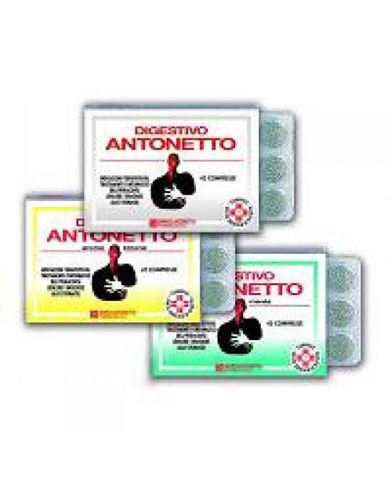 Digestivo Antonetto Anti Reflusso Aroma Menta 40 Compresse - Farmapage.it