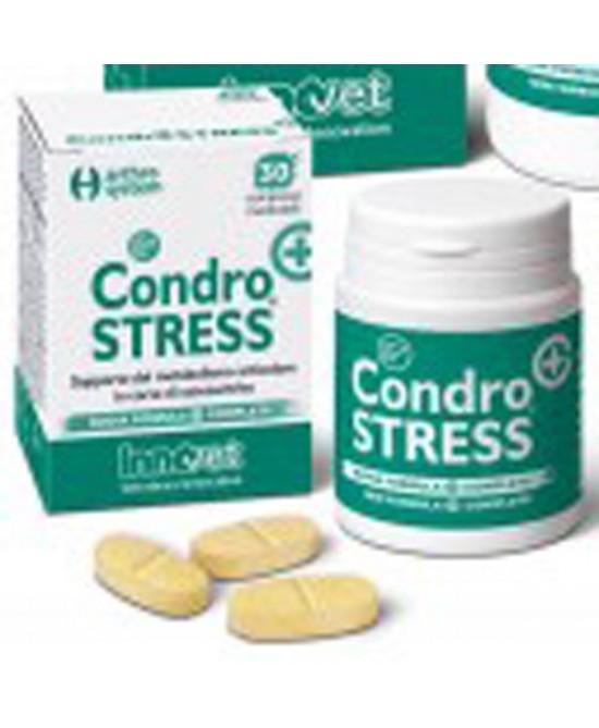 Innovit Condrostress + Supporto Del Metabolismo Articolare In Corso Di Osteoartrite 30 Compresse Masticabili - Farmapc.it