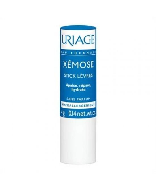 Uriage Xemose Stick Idratante Labbra 4g - Farmajoy