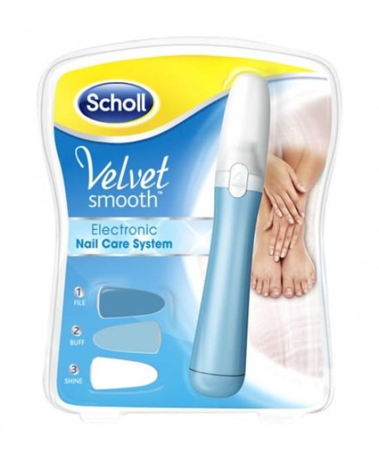 Scholl Velvet Smooth Kit Elettronico Nail Care - Farmaciaempatica.it