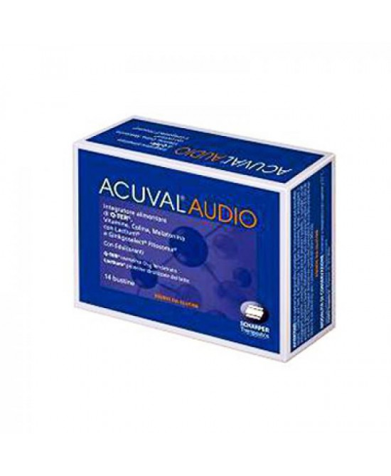 Acuval Audio Integratore Alimentare 14 Bustine - Farmabros.it