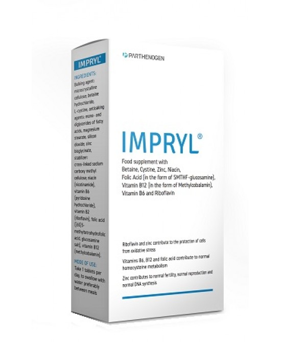Impryl Integratore Antiossidante 30 Compresse