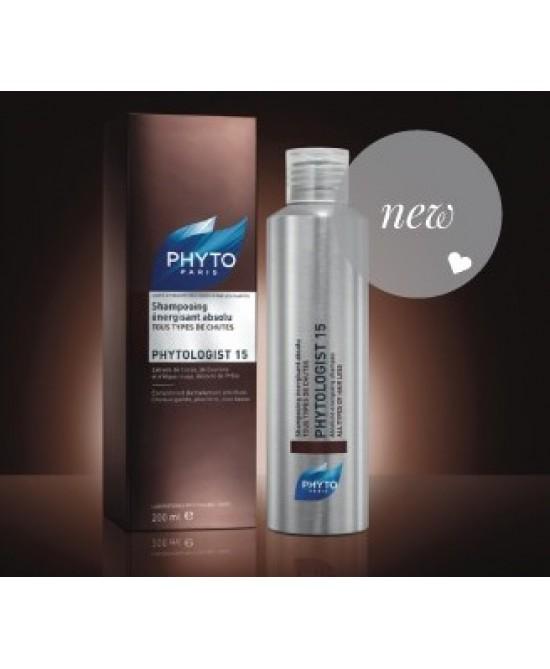 Phyto Phytologist 15 Shampoo Energizzante Assoluto 200ml - Farmapage.it
