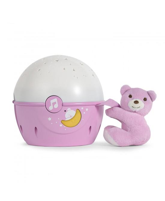 Chicco Gioco Proiettore Orso Colore Rosa -