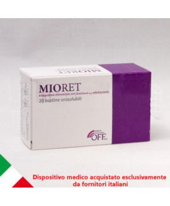 Mioret Integratore Per Il Microcircolo 20 Bustine
