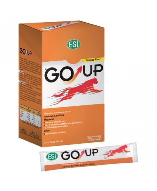 Esi Go Up Integratore Alimentare Energizzante 16 Pocket Drink - Spacefarma.it