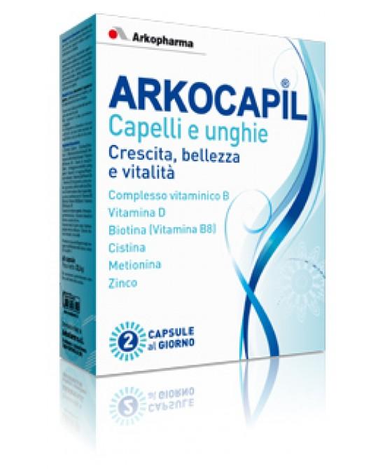Arkocapil Capelli E Unghie Integratore Alimentare 3x30 Capsule - Zfarmacia