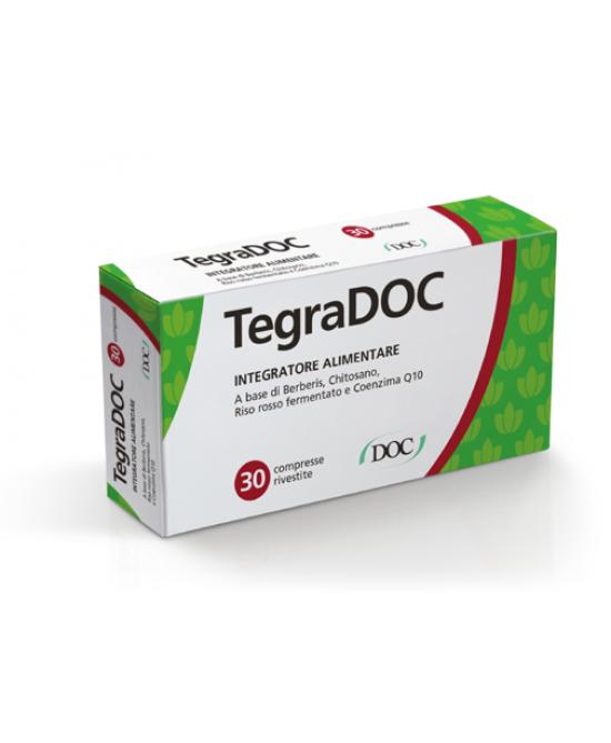 TegraDOC Integratore Alimentare 30 Compresse Rivestite - Farmaci.me