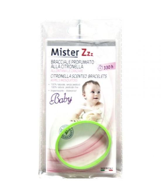 Mister Z Baby Bracciale Antizanzare Alla Citronella - FARMAPRIME