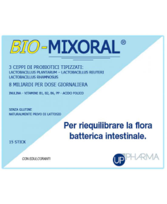Bio Mixoral Integratore 15 Stick