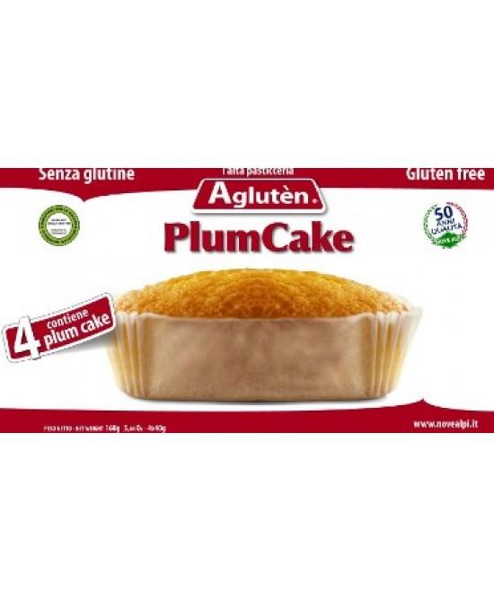 AGLUTEN PLUM CAKE 4X40G prezzi bassi