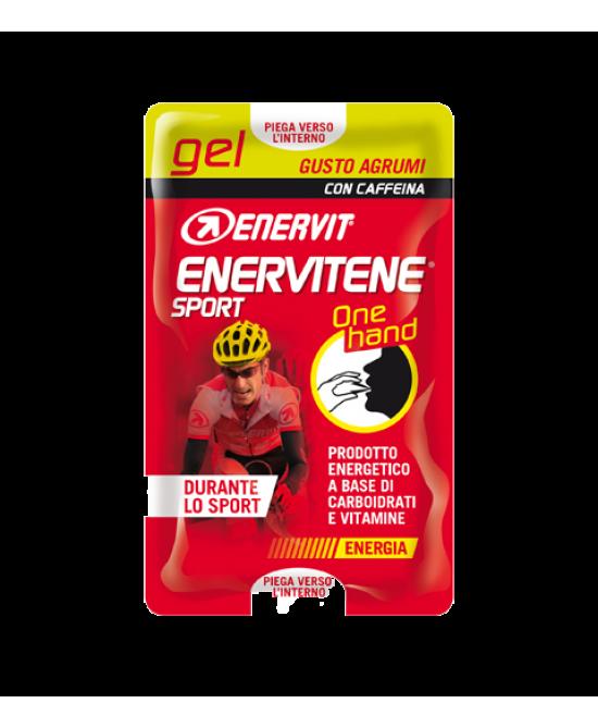 Enervit Enervitene Sport Gel One Hand Agrumi 12,5ml - La farmacia digitale