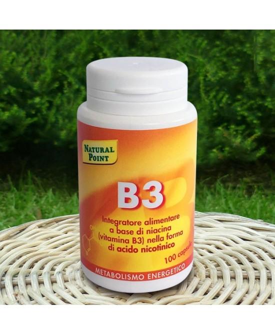 Natural Point B3 Integratore Alimentare 100 Capsule - Farmacia 33