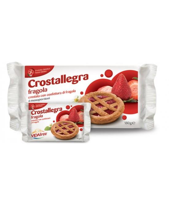 VidaFree Crostallegra Fragola180g - FARMAPRIME