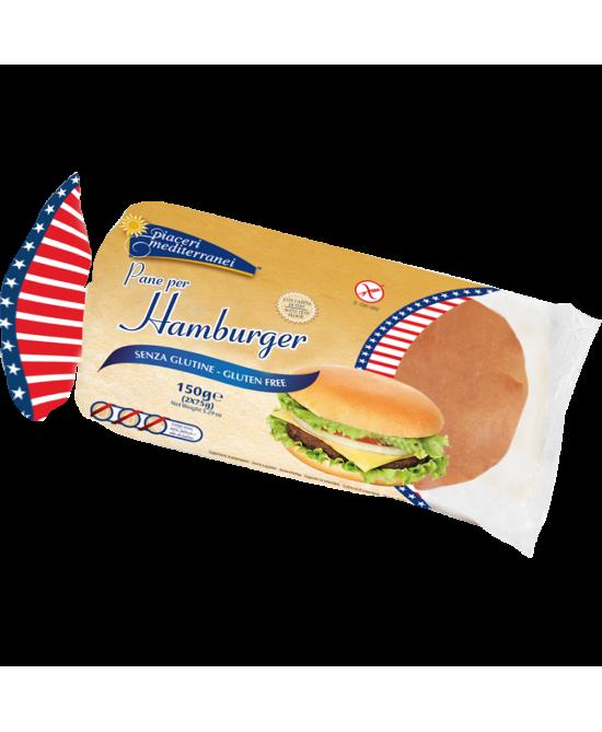 Piaceri Mediterranei Pane Per Hamburger Senza Glutine 150g - FARMAPRIME