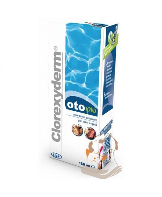 Clorexyderm Oto Più Detergente Auricolare Per Cani E Gatti 150ml - Farmajoy