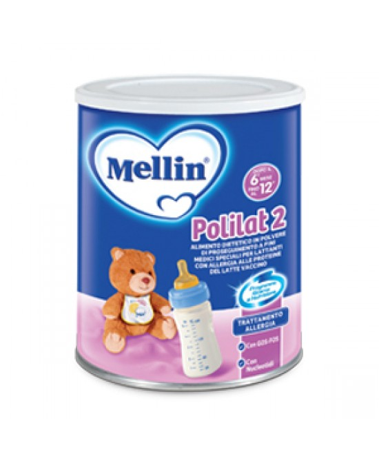 Mellin Polilat 2 Latte Di Proseguimento In Polvere 400g - Farmafamily.it