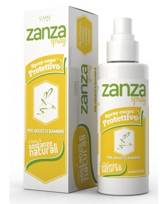 Zanza Spray Corpo Protettivo 100ml - Zfarmacia
