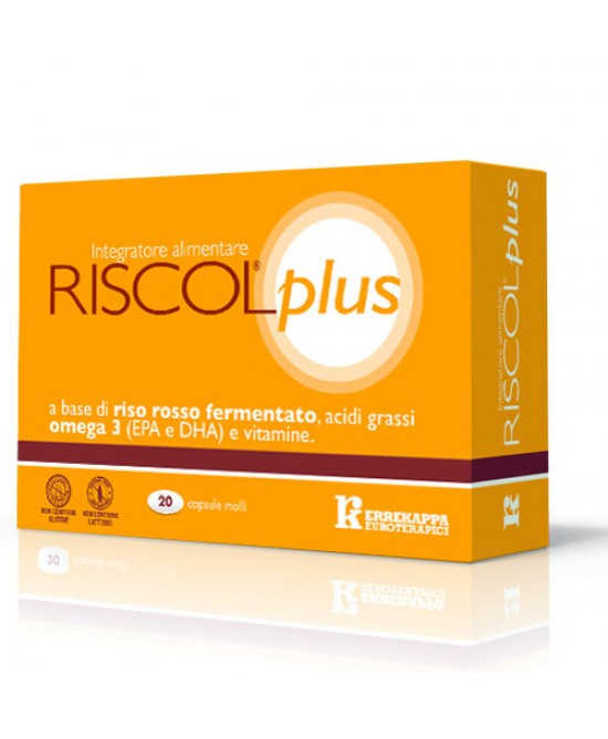 Riscol Plus Integratore Alimentare 30 Capsule - Farmabellezza.it