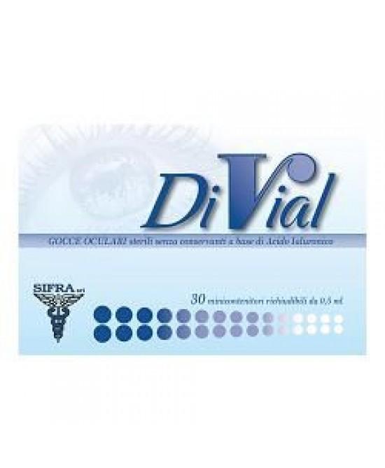 DiVial Plus Collirio Monodose 30 Flaconcini - Farmabros.it