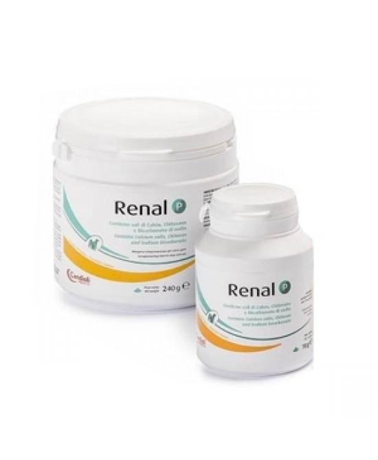 RENAL P MANGIME COMPLEMENTARE PER CANI E GATTI 70 G - Farmapc.it
