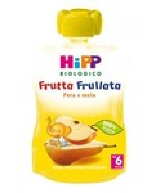 Hipp Biologico Frutta Frullata Pera E Mela 90g - Farmabellezza.it