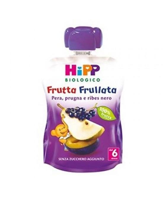 Hipp Bio Frutta Frullata Pera Prugra E Ribes Nero 90g - Farmalandia