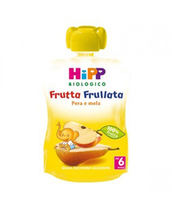 Hipp Bio Frutta Frullata Pera E Mela 90g - Farmajoy