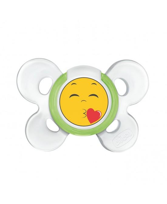 Chicco Succhietto Comfort 6-12m Smile Colore Caucciù 1 Pezzo -
