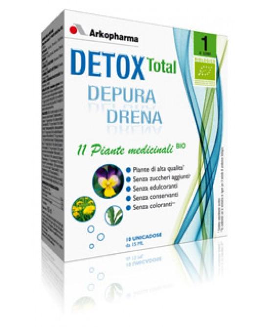 Detox Total Bio Depura Drena Integratore Alimentare 20 Flaconi Monodose - Farmalandia