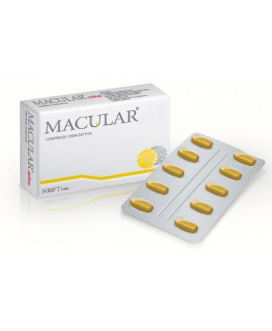 Sooft Macular Fag Integratore Alimentare 20c Compresse - Farmastar.it