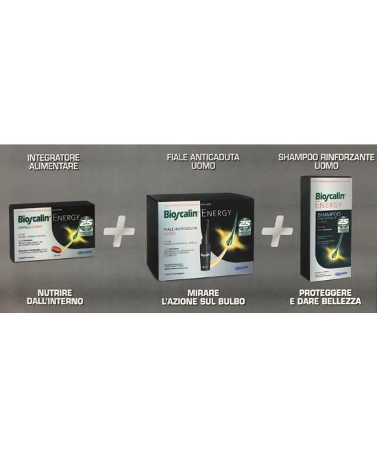 Bioscalin SISTEMA ENERGY compresse + fiale + shampoo - latuafarmaciaonline.it