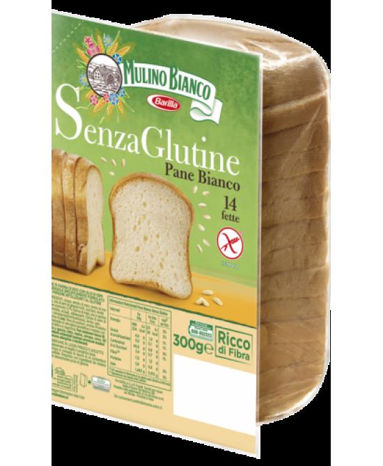 Mulino Bianco Pane Bianco Con Farina Di Riso Senza Glutine 300g - FARMAEMPORIO