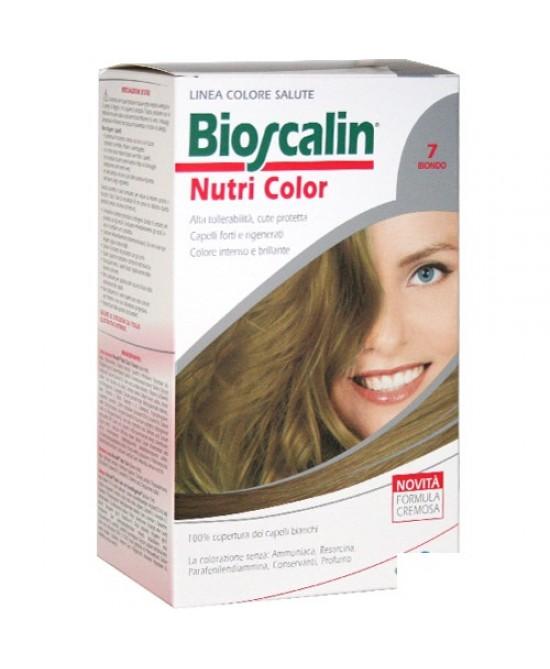 Bioscalin NutriColor Tintura Per Capelli Colore 7 Biondo - FARMAPRIME