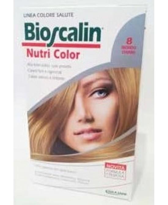 Bioscalin NutriColor Tintura Per Capelli Colore 8 Biondo Chiaro - Farmaunclick.it