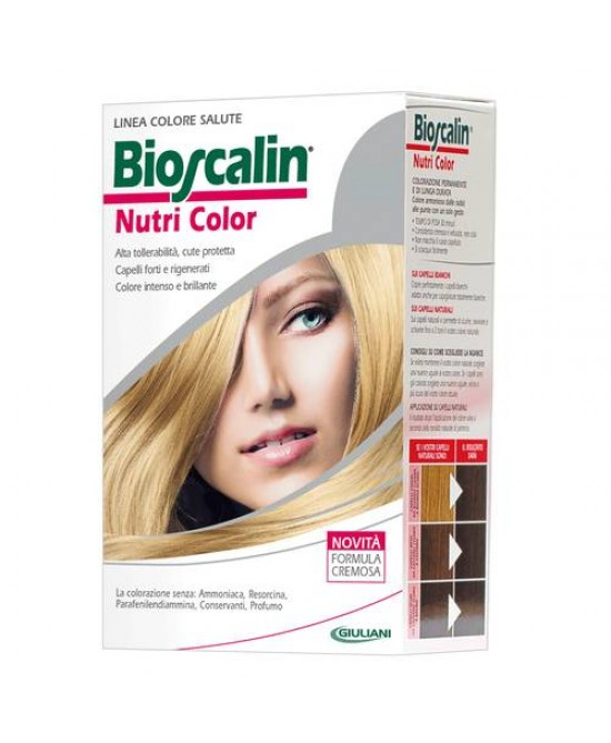 Bioscalin NutriColor Tintura Per Capelli Colore 9 Biondo Chiarissimo - Farmaunclick.it
