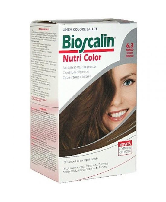 Bioscalin NutriColor Colorazione Permanente Tonailità 6.3 Biondo Scuro Dorato - La farmacia digitale