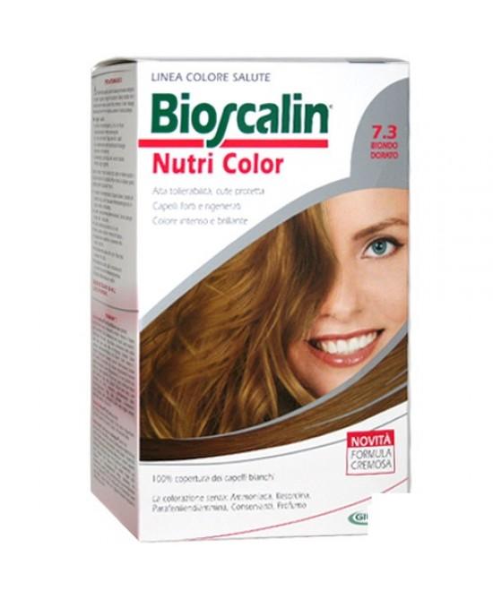 Bioscalin Nutri Color 7.3 Biondo Dorato Trattamento Colorante