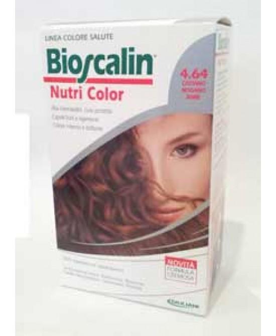 Bioscalin Nutricolor Tintura Per Capelli Colore 4.64 Castano Mogano Rame - La tua farmacia online